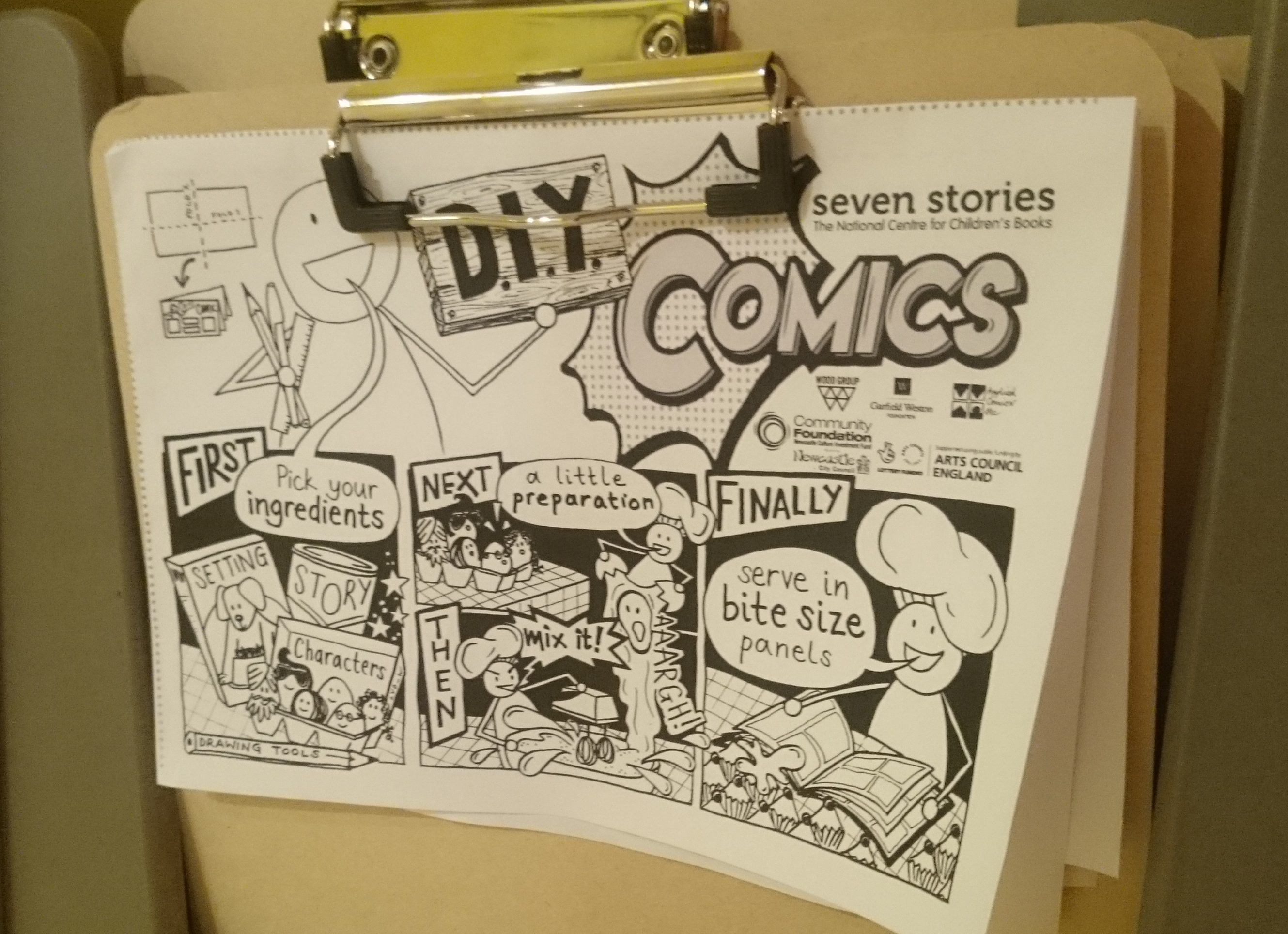 DIY comic cover